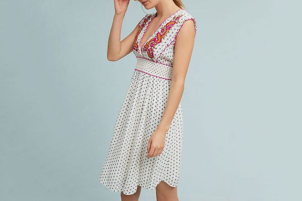 Lilka Maggie Embroidered Dress