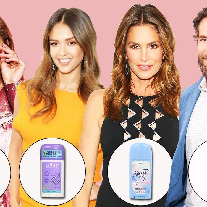 Celebrities' Favorite and Best Deodorants 2017