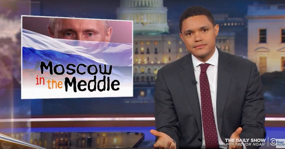 Trevor Noah on Trump's 'Lies' About Russia Connection
