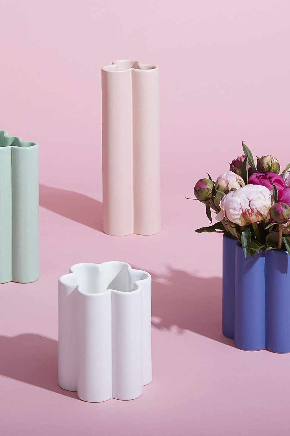 Now House by Jonathan Adler Tall Cloud Vase, Pink