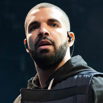Drake performs at the Wireless 10th Anniversary