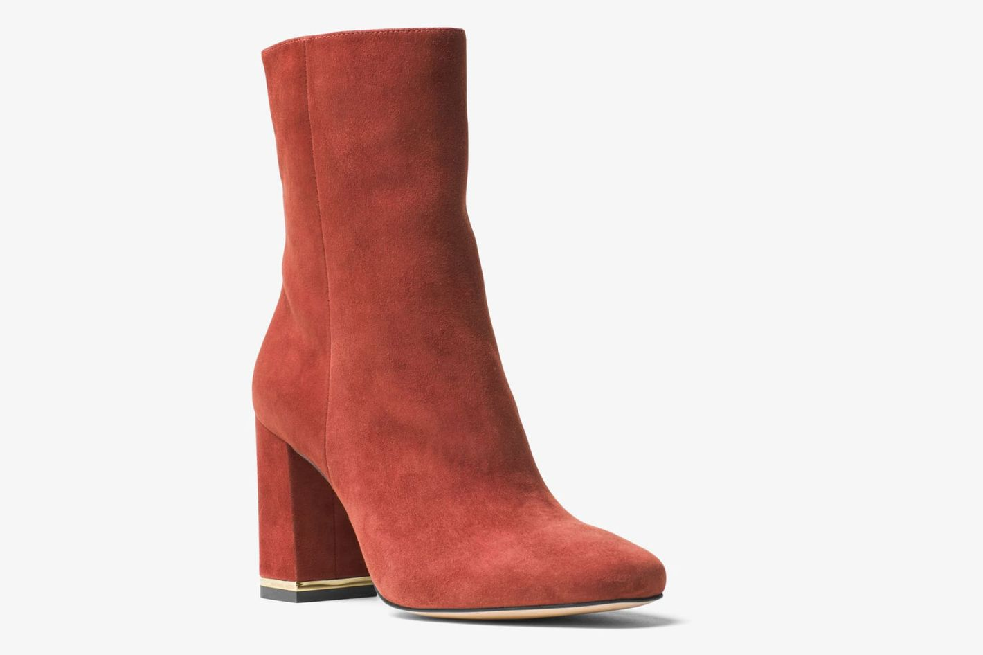 Michael Kors Ursula Suede Ankle Boot