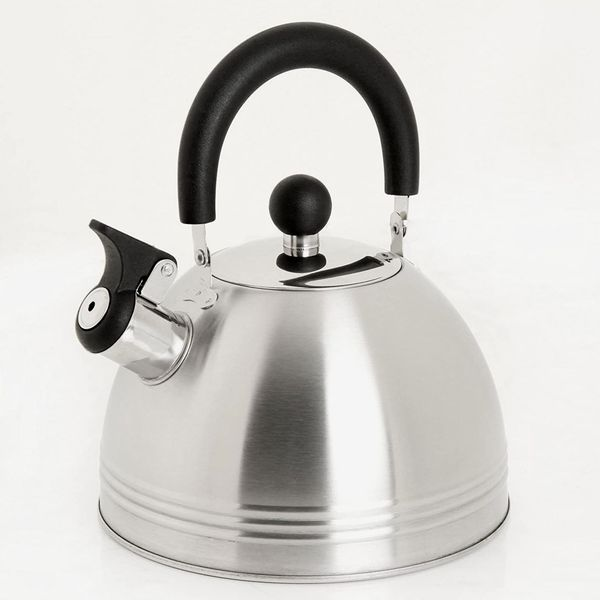 Mr. Coffee Carterton Stainless Steel Whistling Tea Kettle