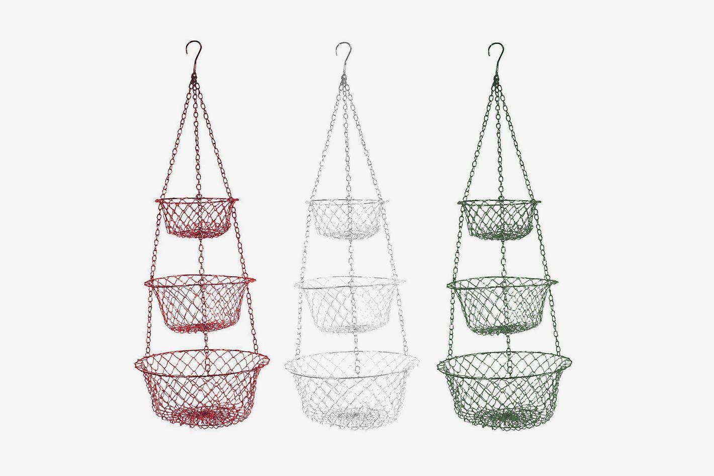 Fox Run 3 Tier Hanging Baskets