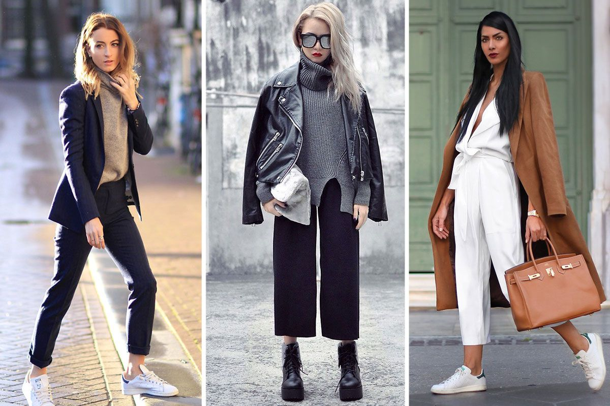 13 ways to wear cropped pants this winter and not freeze ombrellifo Image collections