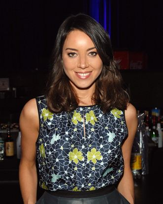 LAS VEGAS, NV - APRIL 17: Actress Aubrey Plaza appears during the CBS Films special screening of the 'The To Do List' at The Orleans Hotel & Casino on April 17, 2013 in Las Vegas, Nevada. (Photo by Bryan Steffy/Getty Images for CBS Films)