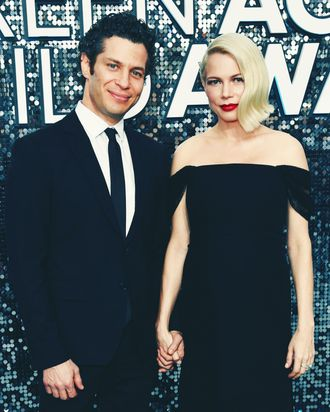 Thomas Kail and Michelle Williams.