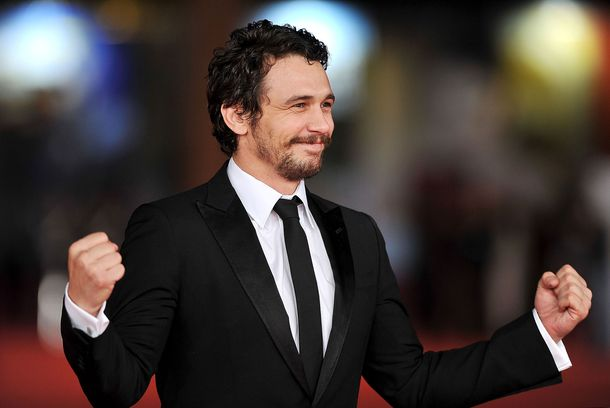 James Franco attends 'Dream & Tar' Premiere during The 7th Rome Film Festival on No