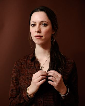 PARK CITY, UT - JANUARY 21: Actress Rebecca Hall poses for a portrait during the 2012 Sundance Film Festival at the Getty Images Portrait Studio at T-Mobile Village at the Lift on January 21, 2012 in Park City, Utah. (Photo by Larry Busacca/Getty Images)
