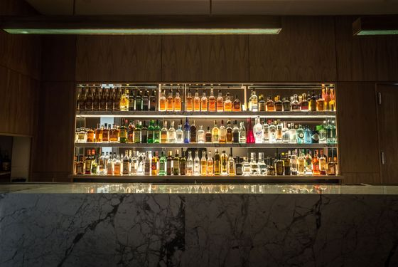 And, of course, the bar.