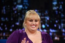 "Rebel Wilson visits ""Late Night With Jimmy Fallon"" at Rockefeller Center on October 1, 2013 in New York City."