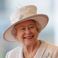 Queen Elizabeth II at an offical welcoming ceremony on November 22, 2011 in London, England.