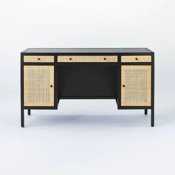 Threshold designed with Studio McGeeSpringville Wood Executive Desk