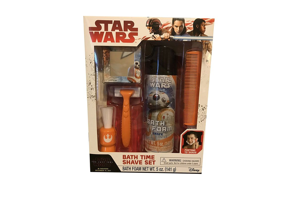 The Last Jedi Bath Time Shave Set