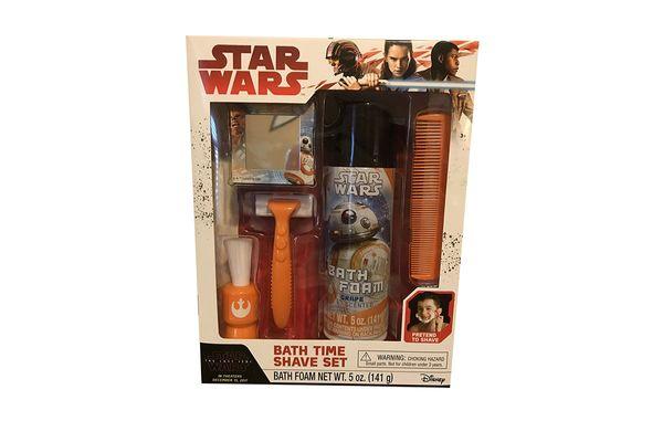 The Last Jedi Bath Time Shave Set