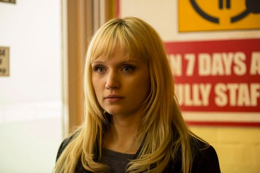 Emily Berrington as Niska - HUMANS _ Season 1, Episode 4 - Photo Credit: Colin Hutton/Kudos/AMC/C4