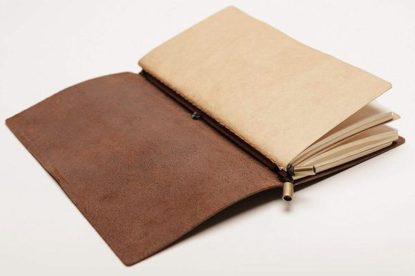 Wanderings Leather Notebook Journal