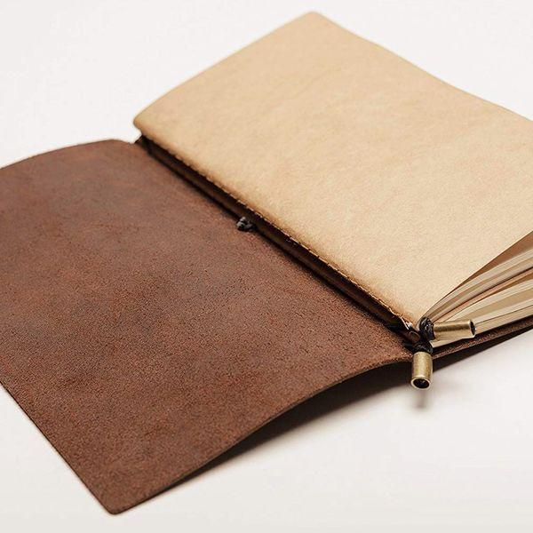 Wanderings Leather Notebook Journal