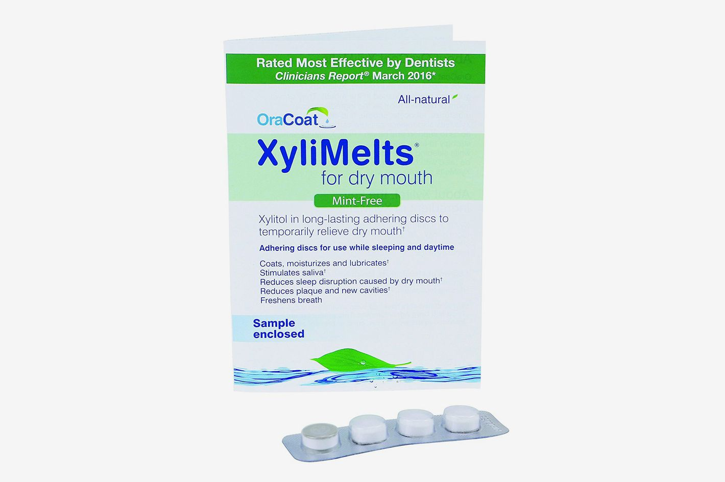 OraCoat Xylimelts for Dry Mouth (4 Count)