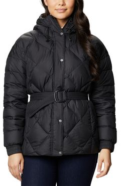 Columbia Women's Icy Heights Belted Hooded Jacket