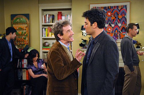 """The Burning Keeper"" -- Lily and Marshall throw a housewarming party, where Ted (Josh Radnor) nearly comes to blows with Marshall??????s boss, Garrison Cootes  (Martin Short), and Barney hits on a crazy divorcee, on HOW I MET YOUR MOTHER, Monday, Feb. 6 (8:00-8:30 PM, ET/PT) on the CBS Television Network.   Photo: Ron P. Jaffe/Fox ????2012 Fox Television. All Rights Reserved."
