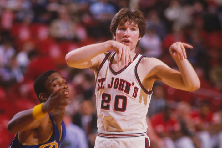 2e471a38ff3b Mullin during his playing days at St. John s. Photo  Focus On Sport Getty  Images
