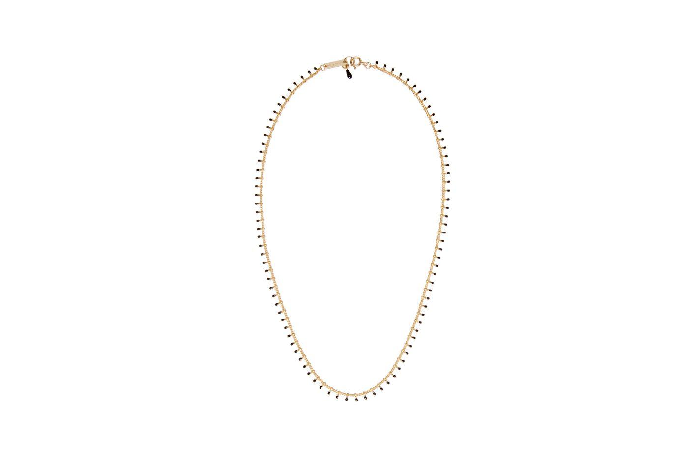 Isabel Marant Gold Casablanca necklace