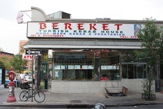 Bereket once served falafel 24/7.
