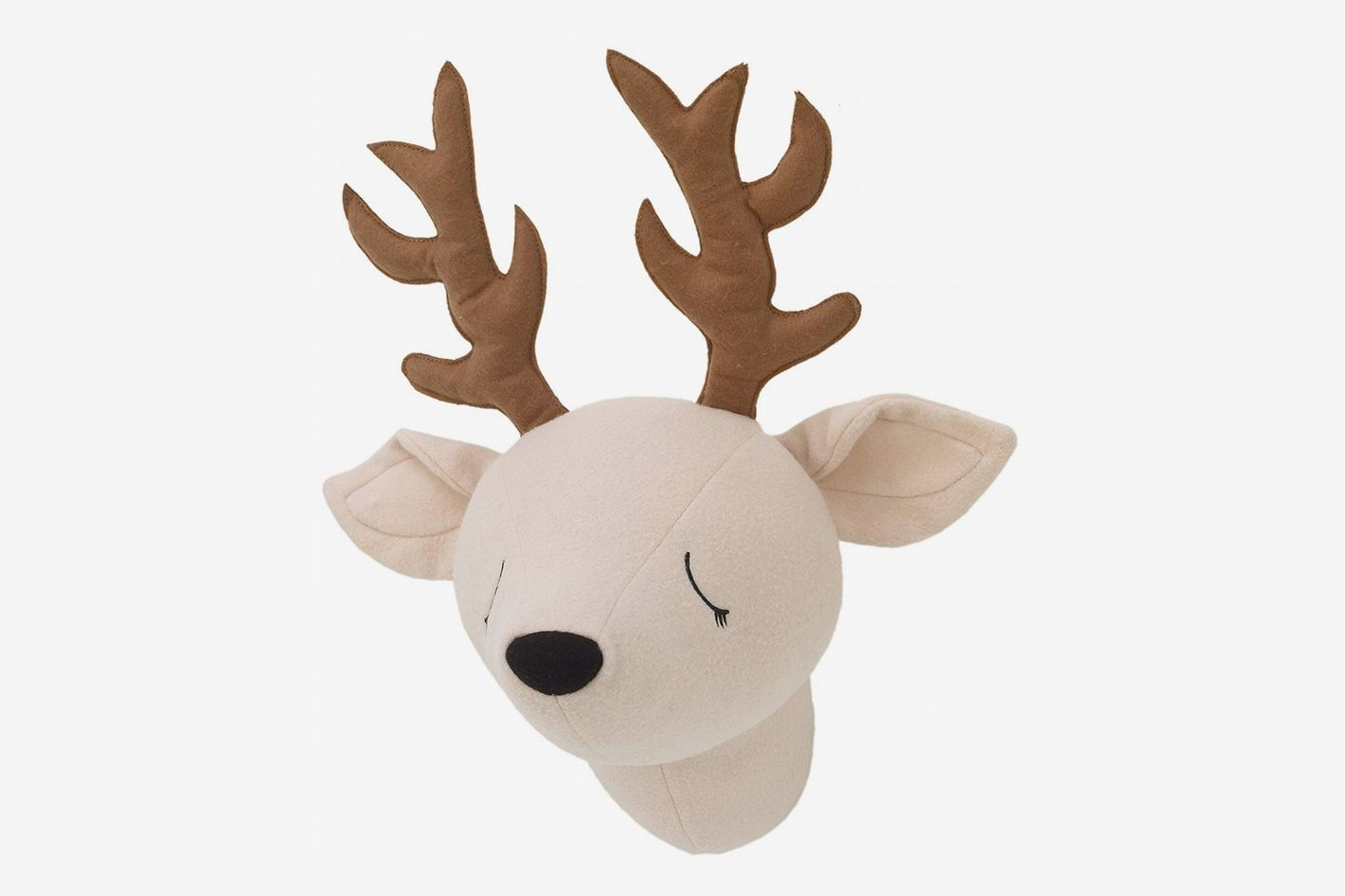 Little Love by NoJo Plush Deer Head Wall Decor