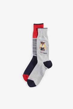 Polo Ralph Lauren Bear Socks (2-Pack)