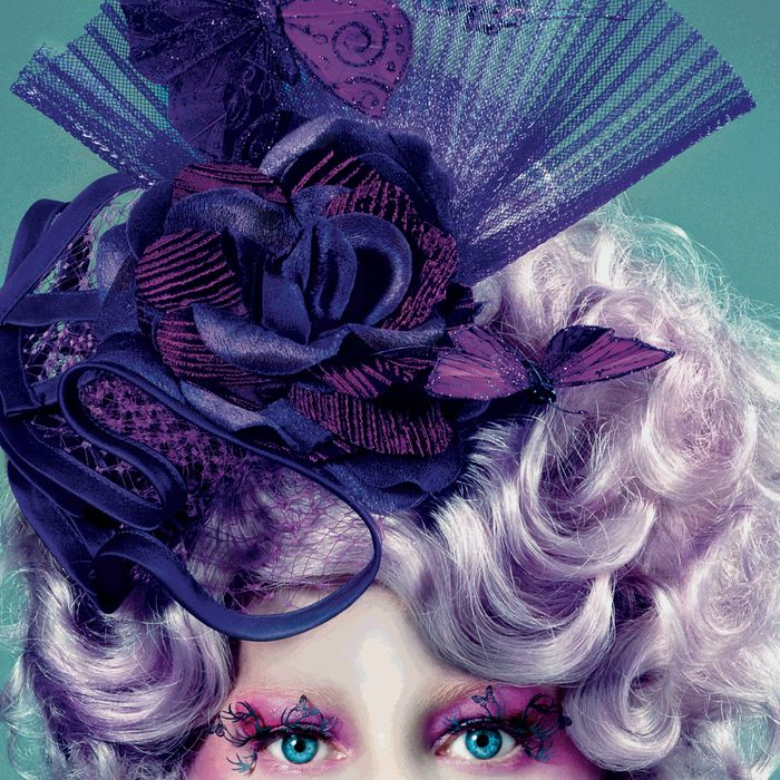 Elizabeth Banks as Effie Trinket in <i> The Hunger Games </i>, by Tim Palen.