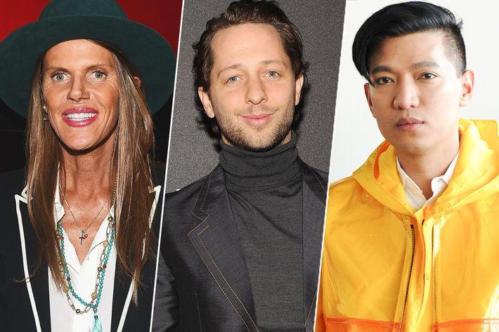 Anna Dello Russo, Derek Blasberg, and Bryanboy.