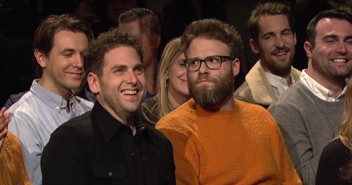 A Bunch of Famous Comedians Interrupted James Franco's SNL Monologue