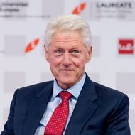 Bill Clinton attends