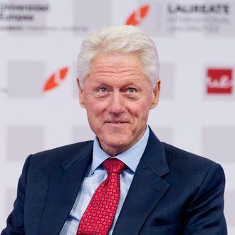 Bill Clinton attends