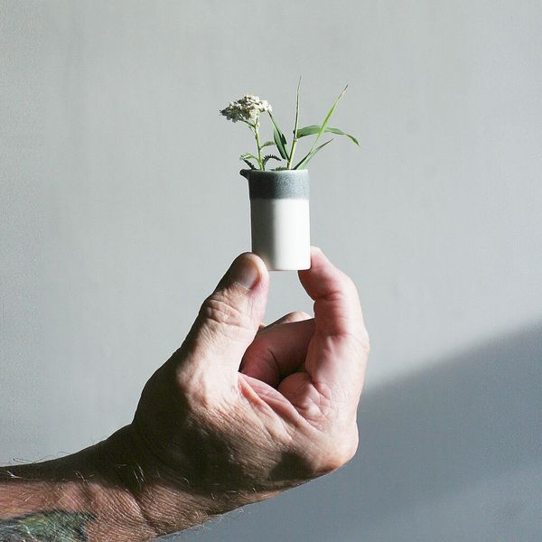 Porcelain Miniature Vase