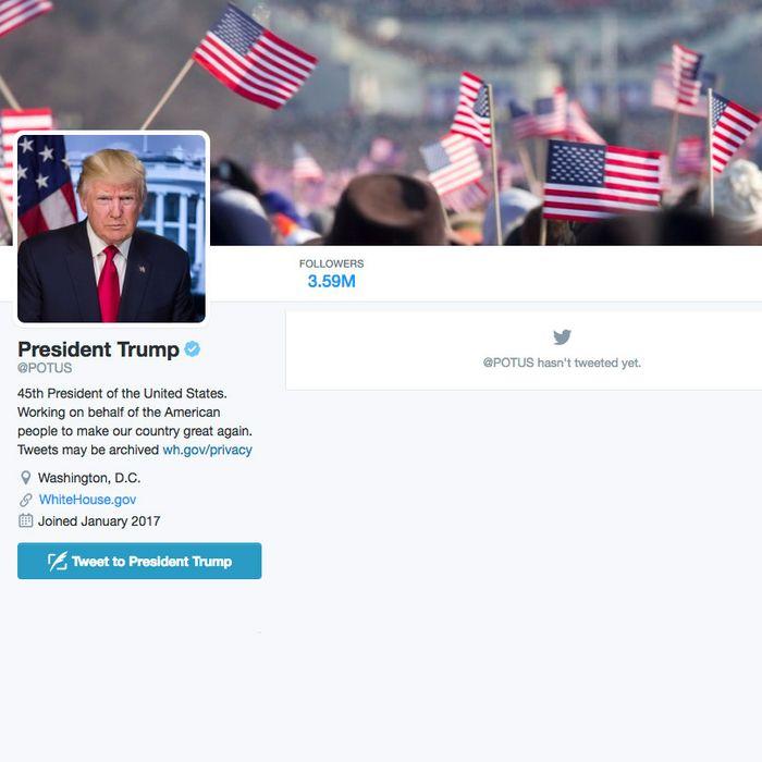 Trump Hasn T Tweeted From Potus Twitter Account Yet