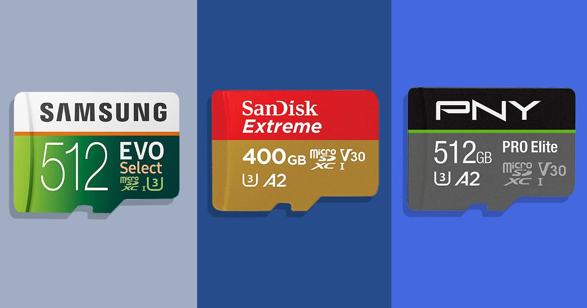 The Best MicroSD Card for Your Phone, Camera, or Nintendo Switch