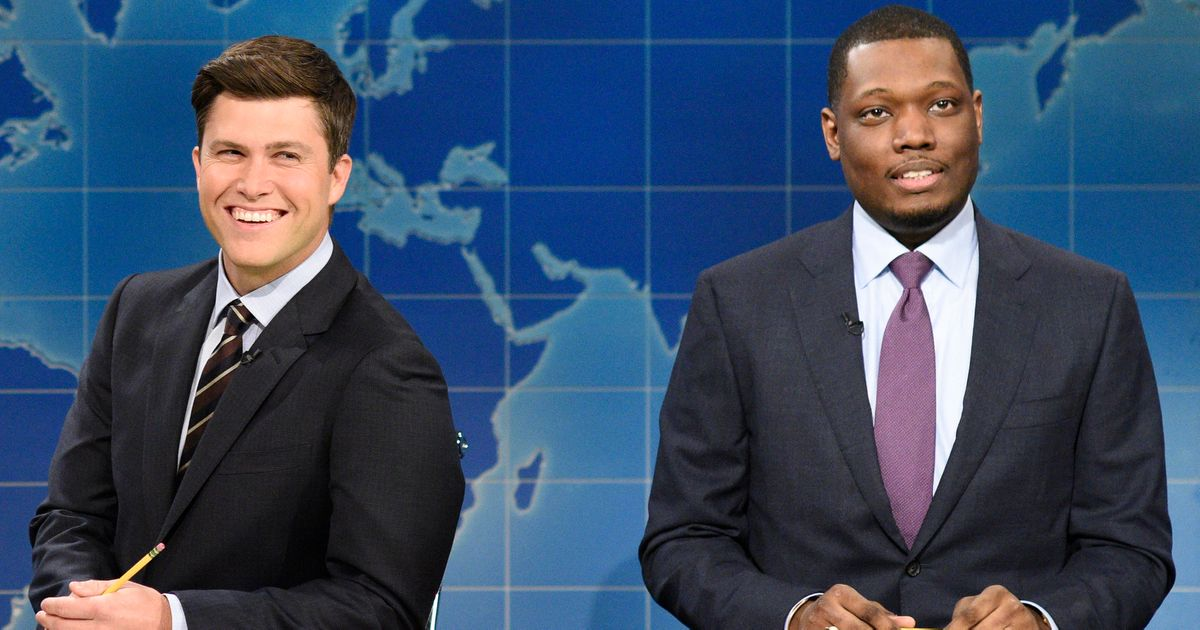 SNL Teases 'Cute Friends' Colin Jost and Michael Che for Hosting the Emmys Together - Vulture