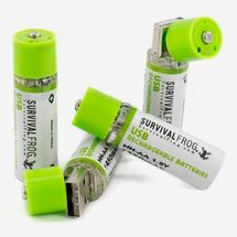 Survival Frog USB Rechargeable Batteries