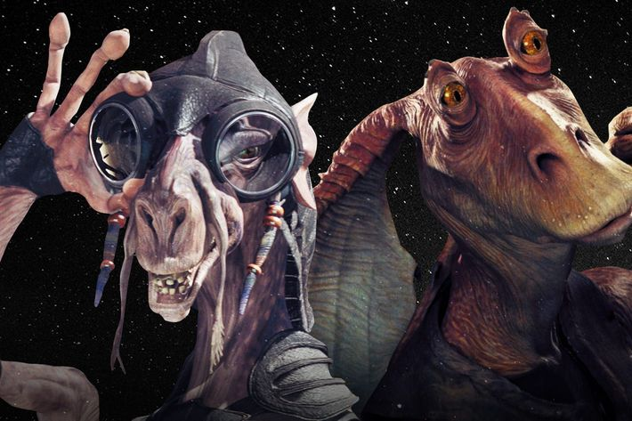 Every CGI Character in the Star Wars Prequels, Ranked