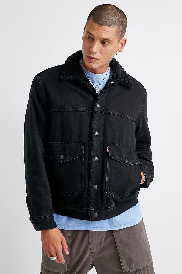 Levi's Ricky Black Sherpa Jacket