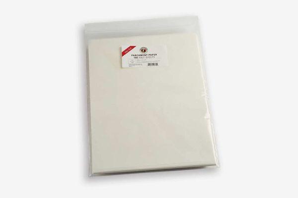 Baking Parchment Paper — Set of 100 Half-Sheets
