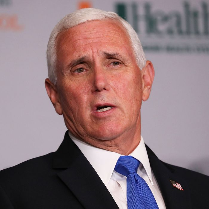 Mike Pence Talks About His Red Meat During Speech