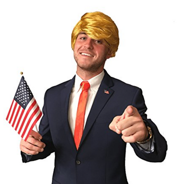 Full Donald Trump Halloween Costume Set