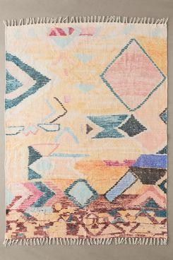 UO Home Bina Printed Geo Chenille Rug (3' x 5')