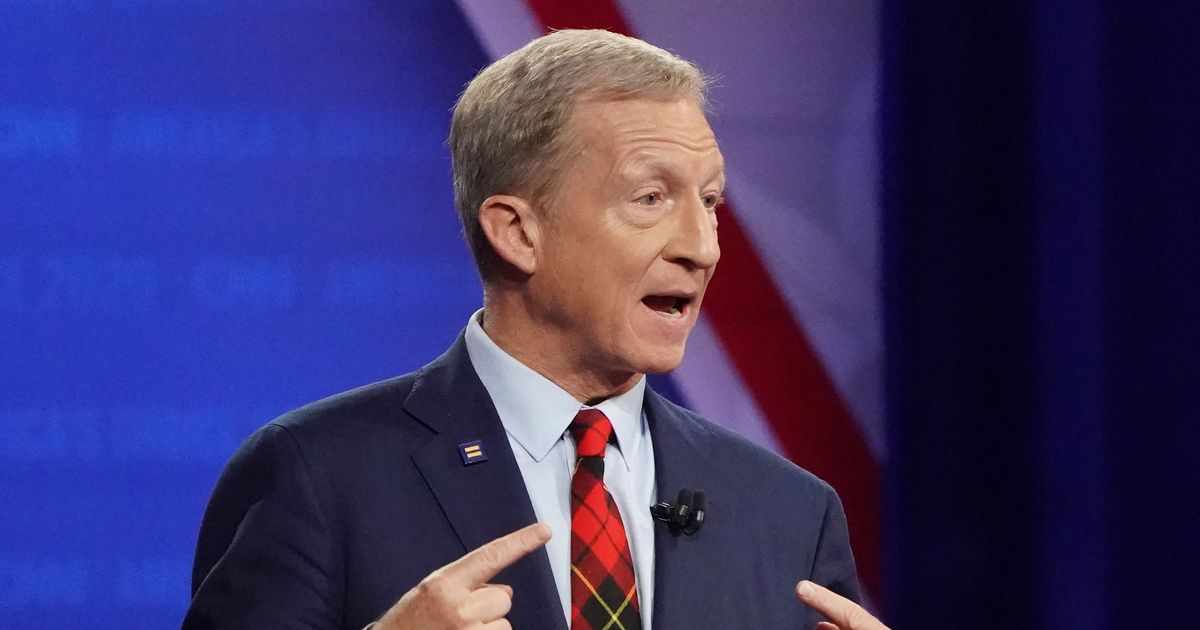 Paradoxical 2020 Democrat Tom Steyer to Make Debate Debut