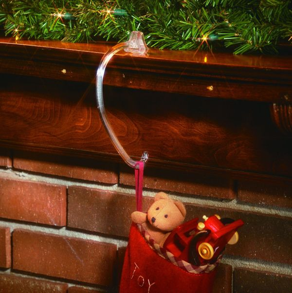 Adams Christmas Safety Grip Stocking Hook, 2-Pack