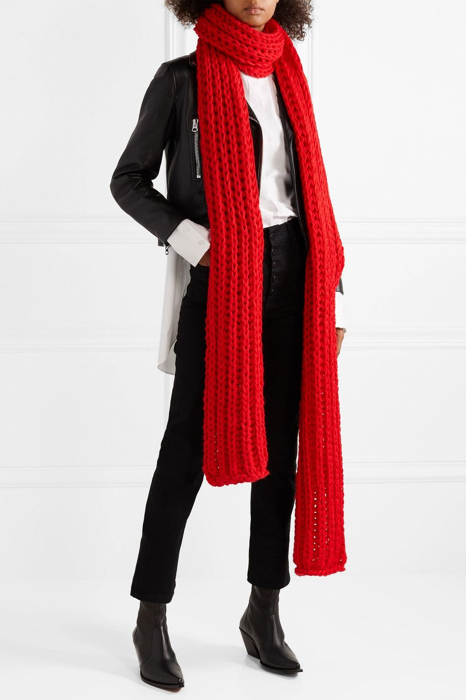 A.W.A.K.E. Wool scarf