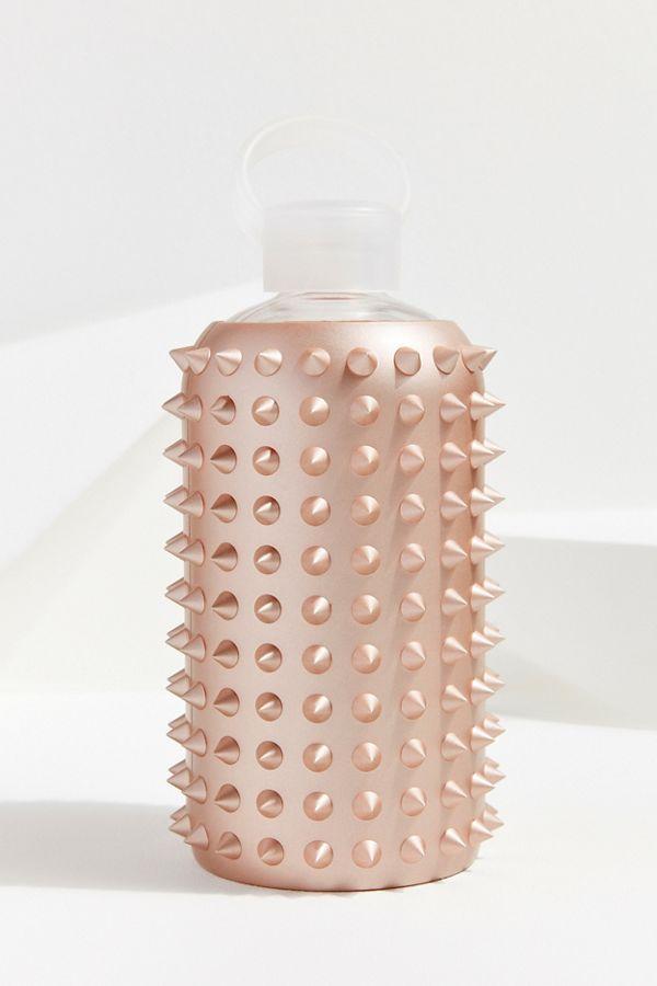 bkr Spiked Metallic 1 Liter Water Bottle